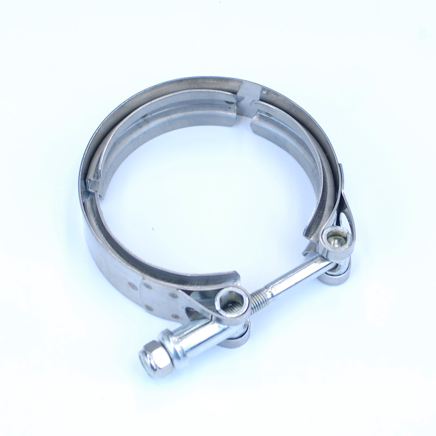 "3"" V-Band Clamp Flange Turbo Downpipe Exhaust Adaptor Mild ..."