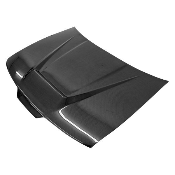 VIS Racing Carbon Fiber Hood Invader Style For 90-93 Acura